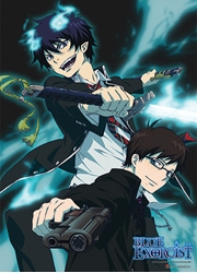 Picture of Blue Exorcist Rin & Yukio Wall Scroll