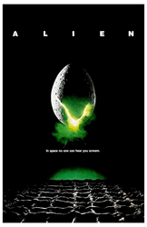 """Picture of Alien 11"""" x 17"""" Counter Top Poster"""
