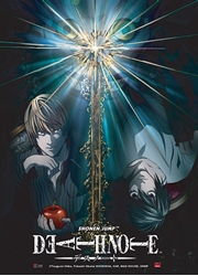Picture of Death Note Light vs L Wall Scroll