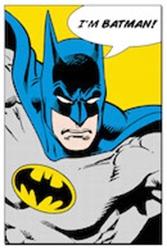 Picture of Batman I'm Batman Poster