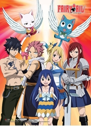 Picture of Fairy Tail Wild Group Shot Wall Scroll