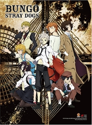Picture of Bungo Stray Dogs Key Art Wall Scroll