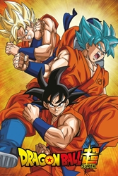 Picture of Dragon Ball Z Super Goku Poster