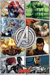 Picture of Avengers Comic Panel Poster