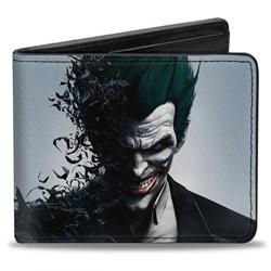 Picture of Joker Face Bats Bi-Fold Wallet