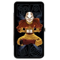 Picture of Avatar the Last Airbender Aang Buckledown Hinged Wallet