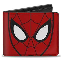Picture of Spider-Man Face Cluse Up Bi-Fold Wallet