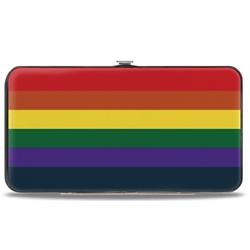Picture of Flag Pride Rainbow Bunkledown Hinged Wallet