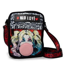 Picture of Harley Quinn Mad Love Bubble Gum Women's Crossbody Purse