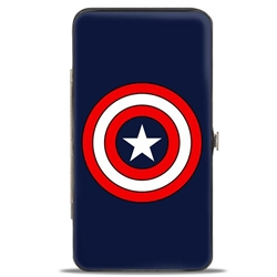 Picture of Captain America Buckledown Hinged Wallet