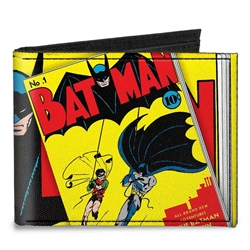 Picture of Batman #1 Robin and Batman Bi-Fold Wallet