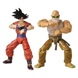 Picture of Dragon Ball Super Goku and Mutenroshi Dragon Stars Action Figure 2-Pack 2021 Con Exclusive