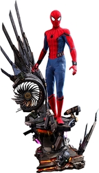 Picture of Spider-Man Deluxe Version Quarter Scale Hot Toy