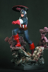 Picture of Captain America Action Statue