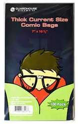 Picture of Thick Current Size Comic Bags 100 pack