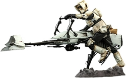 Picture of Star Wars Scout Trooper and Speeder Bike Sixth Scale Hot Toys Figure Set