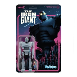 Picture of Iron Giant with Hogarth Hughes ReAction Figure