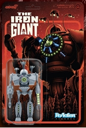 Picture of Iron Giant Attack ReAction Figure