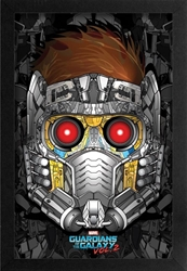 Picture of Guardian of the Galaxy Vol 2 Star-Lord Framed Print