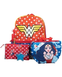 Picture of Wonder Woman Kid's 5 Piece Backpack Set