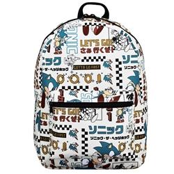 Picture of Sonic the Hedgehog Vintage Japanese Quickturn AOP Backpack