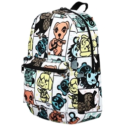Picture of Animal Crossing Tile Print Quickturn AOP Backpack