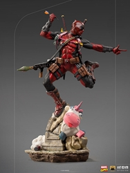 Picture of Deadpool Deluxe 1:10 Iron Studios Statue