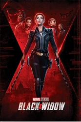"""Picture of Black Widow Unfinished Business 24"""" x 36"""" Poster"""