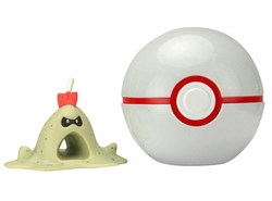 Picture of Pokemon Sandygast and Premier Ball Clip 'n' Go Figure