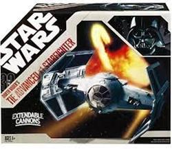 Picture of Darth Vader's TIE Advanced X1 Starfighter 30th Anniversary