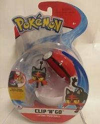 Picture of Pokemon Litten and Poke Ball Clip 'n' Go Figure