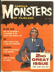 Picture of Famous Monsters of Filmland #2
