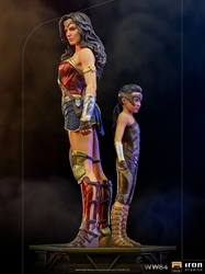 Picture of Wonder Woman and Young Diana Iron Studios Statue