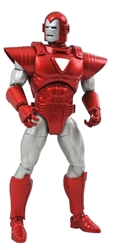 Picture of Iron Man Silver Centurion Now Marvel Select Action Figure