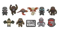 Picture of Godzilla vs Kong 3D Foam Blind Bag Clips