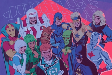 Who Are the Justice League International?