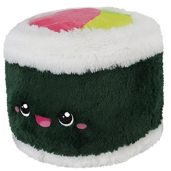 """Picture of Comfort Food Sushi Roll Squishable 15"""" Plush"""