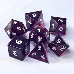 Picture of Mysterious Night Glass Dice Set
