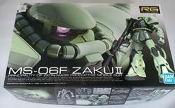 Picture of Gundam Zaku II #04 MS-06F Green RG 1/144 Model Kit