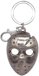 Picture of Friday the 13th Jason's Mask Pewter Key Ring