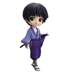 Picture of Rurouni Kenshin Meji Swordsman Q Posket Sojiro Seta Version A Figure
