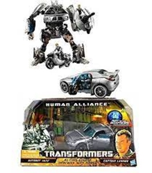 Picture of Transformers Human Alliance Autobot Jazz Captain Lennox