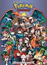 Picture of Art of Pokémon Adventures SC 20th Anniversary Illustrated SC